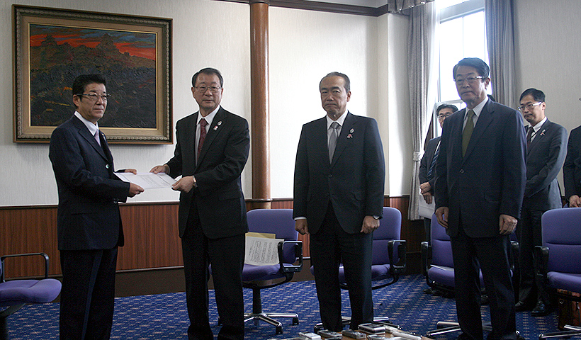 松井大阪府知事・吉村新大阪市長に望む