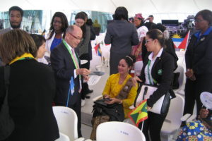 アスタナ国際博覧会「カリブデー」にあわせ、現地カザフスタンで誘致活動を実施