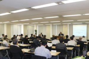 大阪大学 産学共創本部 副本部長 北岡康夫 氏 が講演