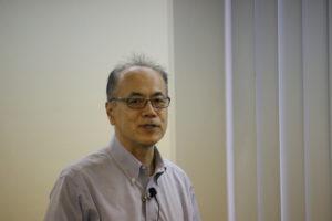 理化学研究所 リサーチコンプレックス戦略室 竹谷誠 氏 が講演