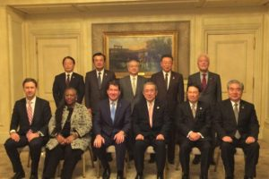 ハガティ駐日米国大使閣下と経済3団体 昼食懇談会を開催