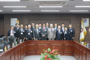 安全保障委員会 第17回「大韓民国訪問団」