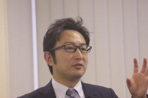 福岡地域戦略推進協議会(FDC) 事務局長 石丸修平 氏 が講演